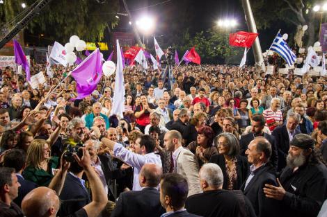 Euro-election celebrations