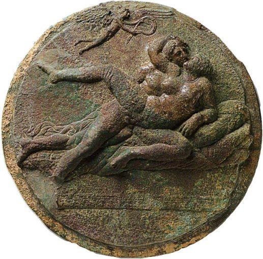 erotic greek coin